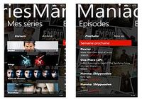SeriesManiac Windows Phone pour mac