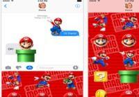 Super Mario Run Stickers iOS pour mac