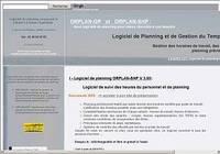 Logiciel de gestion de Planning Orplan-GP pour mac