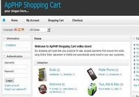 ApPHP Shopping Cart ecommerce software pour mac