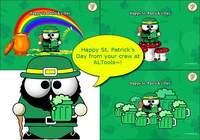 Saint Patricks Day Desktop Wallpapers 2006 pour mac