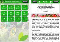 Calendrier des travaux du jardin iOS