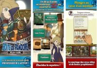 Layton: Diabolical Box in HD IOS