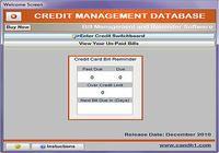 Credit Management Database pour mac