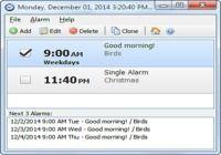Free Alarm Clock Portable pour mac