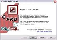 Access2MySQL Pro