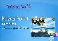 Acoolsoft Free PowerPoint Template pour mac
