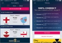 Official Rugby World Cup 2015 IOS pour mac