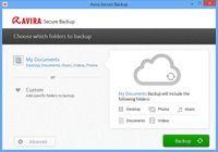 Avira Secure Backup pour mac