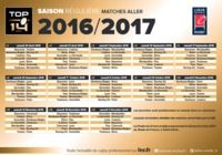 Calendrier Top 14 saison 2016-2017 pour mac
