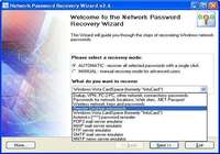 Network Password Recovery Wizard pour mac