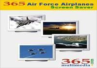365 Air Force Airplanes Screen Saver pour mac
