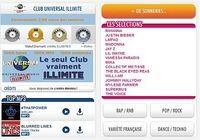 Club Universal Music Illimité Android pour mac