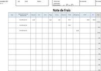 Note de frais Excel pour mac