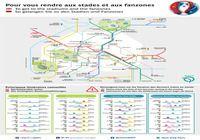EURO 2016 - Fanzones et plan du Métro Parisien pour mac