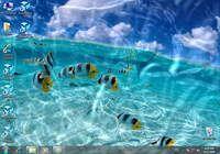 Animated Wallpaper - Watery Desktop 3D