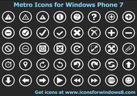 Metro Icons for Windows Phone 7 pour mac