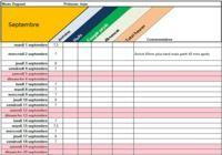 Calcul des heures de travail Excel pour mac