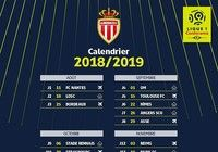 Calendrier AS Monaco Ligue 1 2018 - 2019 pour mac