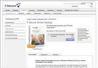 F-Secure Online Backup pour mac