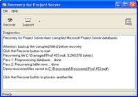 Recovery for Project Server pour mac