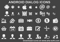Android Dialog Icons pour mac