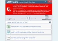 Comodo Internet Security Essentials pour mac