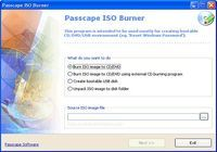 Passcape ISO Burner pour mac
