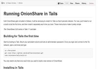 OnionShare pour mac
