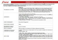 Freebox Delta - Brochure Tarifaire  pour mac