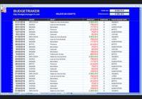 BUDGETRAKER - Excel® pour mac