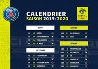 Calendrier PSG Ligue 1 pour mac