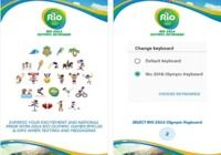 Rio 2016 Keyboard Android pour mac