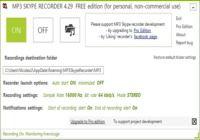 MP3 Skype Recorder pour mac