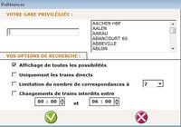 Les horaires de trains SNCF pour mac