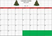 Calendrier Familial 2014-2015 pour mac