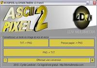 ASCII2PIXEL