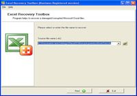 Excel Recovery Toolbox