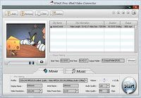 WinX Free iPod Video Converter pour mac