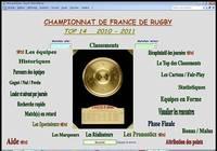 TOP 14  2010-2011 pour mac
