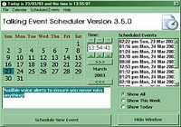 Talking Event Scheduler pour mac