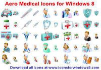 Aero Medical Icons for Windows 8 pour mac