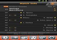 LiveScore iOS pour mac