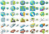 Travel Icon Set pour mac