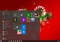 Thème Windows 10 Sapins de Noël pour mac