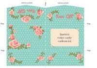 Pochette carte cadeau rose  pour mac
