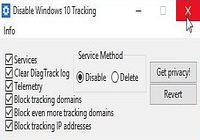 Disable Windows 10 Tracking pour mac