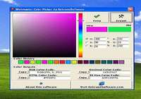 Webmaster Color Picker pour mac