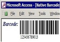 MS Access Barcode Integration Kit pour mac