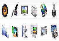 Multimedia Icons Vista pour mac